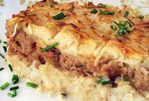 gratin pommes de terre et viande