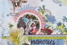 SCRAPBOOKING *LAYOUTS*  / by Serrelle Snovelle