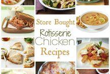 Rotisserie Chicken Recipes / by mamachallenge.com