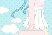 ✧・゚: *✧・゚:*ᑭᗩᔕTEᒪ ✧・゚: *✧・゚:* / inhale the pastel