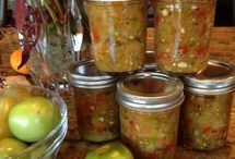 canning & such / Foodstuff for jars. Whether it gets sealed or not / by Tahni Fortin