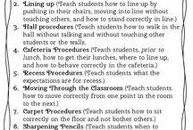 Classroom Procedures & Rules