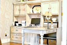 Craft Room / Home Office / Craft room ideas / organization / craft supplies / office / desk