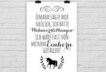 Unicorn / Einhorn Bilder