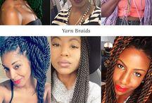 Braids / Braided hairstyles