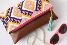 ethnic clutch/bag