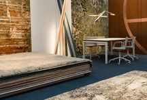 FRONT Rugs / We are the first handmade rug showroom in the UK to exclusively present the work of multi-award-winning rug designers, Jan Kath, Zoë Luyendijk and Michaela Schleypen.  FRONT London, 20 Bruton Place, W1J6LY, London.  Come and visit us!