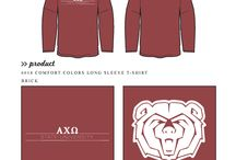 Alpha Chi Omega / Alpha Chi Omega custom shirt designs #alphachiomega #aco #axo  For more information on screen printing or to get a proof for your next shirt order, visit www.jcgapparel.com