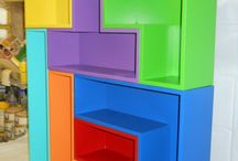 Bookshelves / by Andrea Oakeson