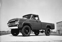 Pickups and such... / Vintage and classic pickups and trucks.  / by Derelict Garage