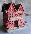 Miniature~ Putz Houses / by Stacey Dean