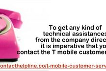 T Mobile Customer Services-For The Customers Day and Night