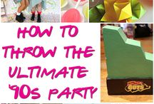 My 90's 30th party ideas :) / I really want to have a 90's party for my 30th!
