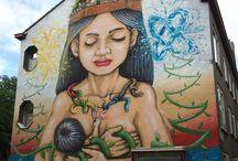 Street art et allaitement