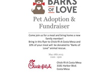 Barks of Love Animal Rescue / We donate 5% of our proceeds to this pawsome rescue!