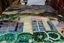 Stained Glass Mosaics / Mosaics That Use Stained Glass as their main material