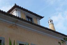 Chaminés / Lindas nos telhados das casas!!!