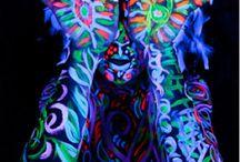 Glow paintin'