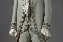 rokoko obr pánských šatů