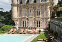 french chateau homes