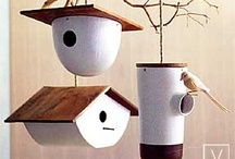 Birdy Bird Houses / by Missy Irwin Vincent