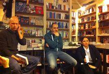"""""""Mia moglie e io"""" alla libreria minimum fax di Roma"""