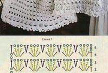 Mantas de bebé crochetadas