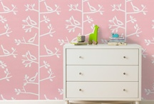 Pint-Sized Wall Play / Whimsical wallpaper, decals and objets for the little ones. What you'll find: playful wallpaper, decorating ideas for the baby room and bedroom décor. / by DwellStudio