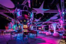 Crazy Carnival / The perfect theme for a corporate end-of-year function. A Carnival theme is an invitation to let your hair down and have fun!