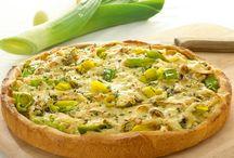 Pizza, herzhafter Blechkuchen