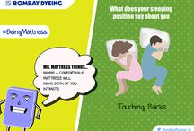 #BeingMattress / What if you were a mattress? How would #BeingMattress feel? Mr. Mattress and Ms. Mattress will take us through an amazing journey sharing with us how it feels to be a mattress. #BombayDyeing