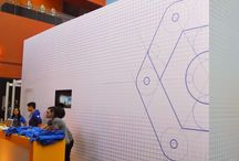 Google Cloud Platform Event / Extensive graphic applications for a major live event.