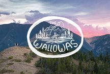 The Wallowas: One of Oregon's 7 Wonders / Whoever named the 7 Wonders of the World somehow overlooked the Wallowas.  Where you can look down from an alpine summit and see the high desert of Indian country roll out in front of you in one direction, and then turn around and see past Hells Canyon into the next state, and some say all the way past it to the next one after that.