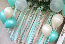 Photo backdrop / Photo back drop for gypsy baby shower