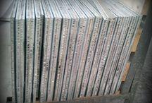 Aluminum honeycomb natural stone panel-Alüminyum Honeycomb doğal taş  panel / Lightweight marble panel with Aluminum Honeycomb