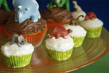 Dinosaur Party for #1 / Theme, decor, and gifts for babe's 1st birthday :) / by Haley Grant