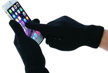 Touch Screen Glove /  HAWEEL® Three Fingers Touch Screen Gloves for Men(Black) by HAWEEL