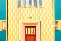 Fasader i Berlin