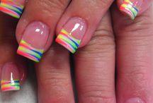 Summer/spring nails / Nail art