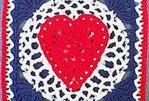 crochet squares and motifs / by Elaine Scott