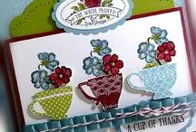 Cards teacups
