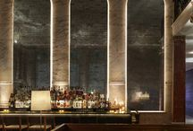 Restaurants & Bars / Refined restaurant and bar interiors we love and projects featuring Articolo Lighting.
