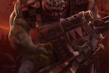 WH40k Orks Artwork