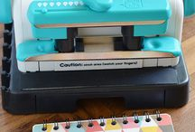 Cinch bindery / We R Memory Keepers Cinch Bindery projects and tutorials.