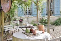 Jardines, terrazas, patios...