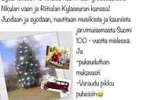 Läheistenpäivä 28.7.2017 / Vietämme Riitialan Heittolanrannassa klo 17-19 Nikulan asukkaiden ja heidän omaisten, läheisten ja kyläläisten yhteistä aikaa. Mukana järjestelyissä Riitialan kyläseura ry.