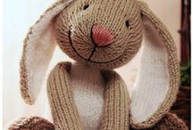 Knitted Toys / DIY toy's patterns and ideas