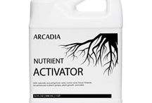 Organic Gardening / While a complete base nutrient fertilizer provides everything a plant must have to live, Arcadia's Fulvic Nutrient Activator allows your plants to go beyond simply surviving and encourages them to thrive by fully maximizing their genetic potential. Our products carries 70 or more minerals and trace elements as part of its molecular complexes in ideal natural form to be absorbed by plant cells.
