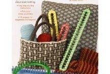 loom knitting (kniffty knitter)