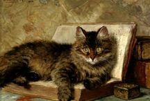 cat / кошки в живописи